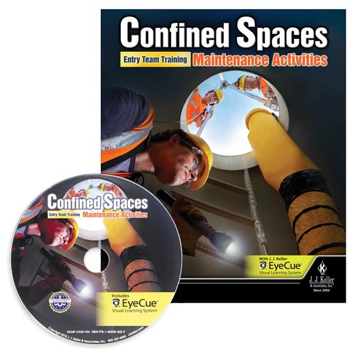 Confined Spaces: Entry Team Training - Maintenance Activities - DVD Training (09250)