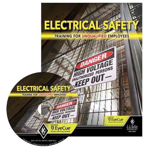 Electrical Safety: Training for Unqualified Employees - DVD Training (09527)