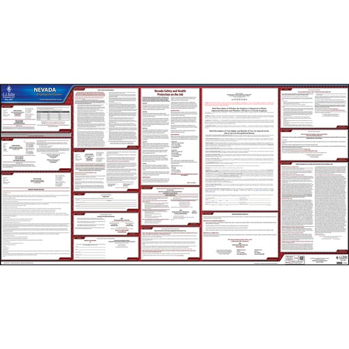 2019 Nevada & Federal Labor Law Posters (03960)