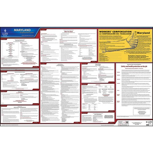 2019 Maryland & Federal Labor Law Posters (03991)