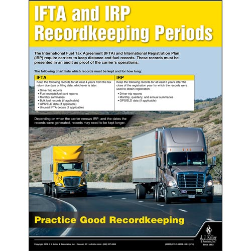 Ifta and irp motor carrier safety poster for What is the motor carrier identification number