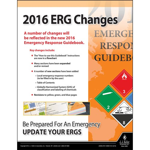 2016 erg changes