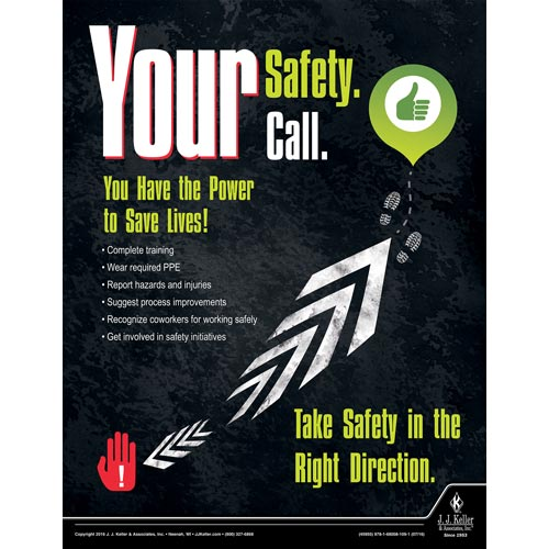 Your Safety Call - Workplace Safety Advisor Poster (09645)