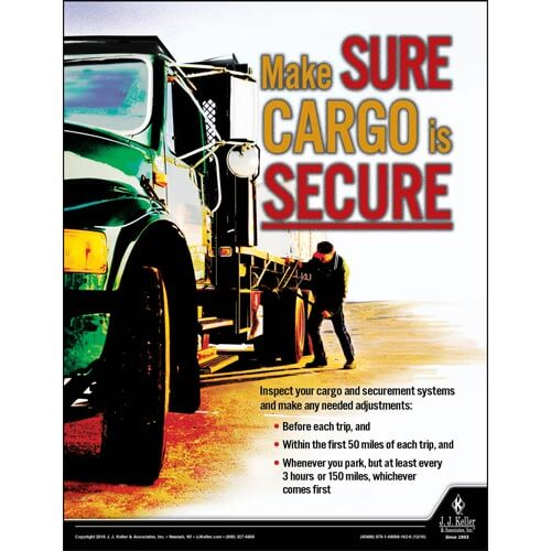 Secure Cargo - Motor Carrier Safety Poster (09662)