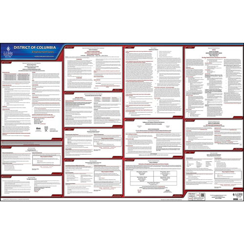 2021 District of Columbia & Federal Labor Law Posters (03952)