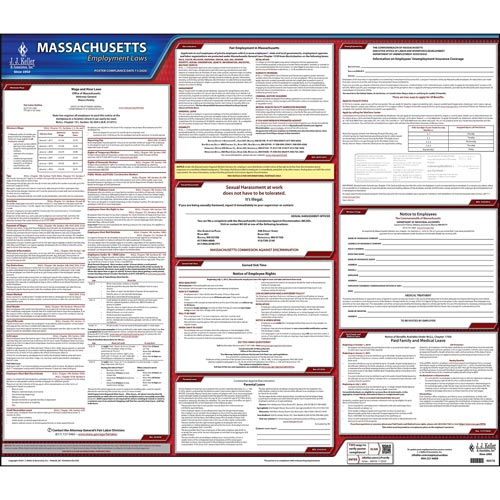 2019 Massachusetts & Federal Labor Law Posters (03975)