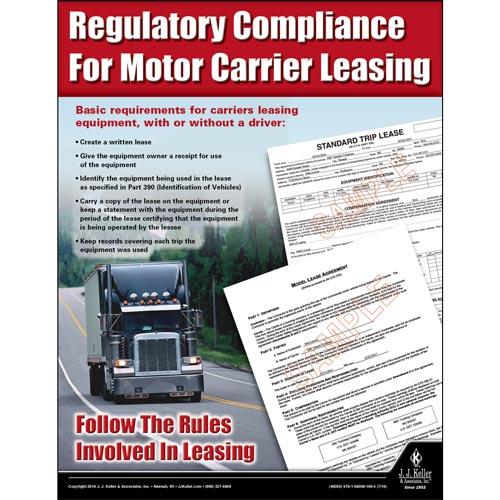 Regulatory Compliance For Motor Carrier Leasing Motor