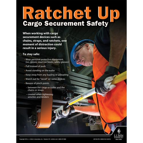 Ratchet Up - Transport Safety Risk Poster (09717)