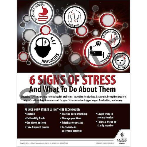 Stress - Transportation Safety Poster (09735)