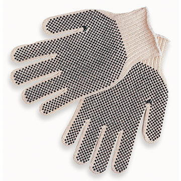 MCR Safety® 9660LM PVC Dot Cotton/Poly Gloves (011174)
