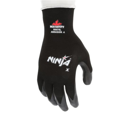 MCR Safety® N9674 Ninja Dipped Work Gloves (011185)