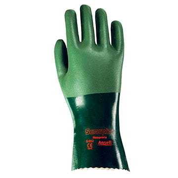 Ansell Scorpio® 8-352 Scorpio Neoprene Coated Knit Lined Gloves (011199)