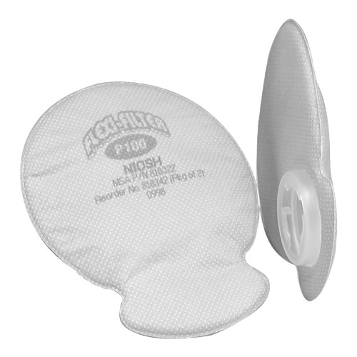 MSA® Advantage P100 Flexi-Filter Pad for Advantage Respirators (011415)
