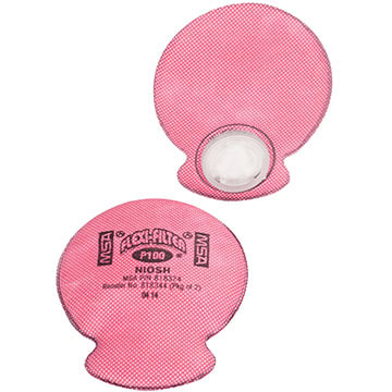 MSA® Advantage P100/AG/HF Flexi-Filter Pads for Advantage Respirators (011417)