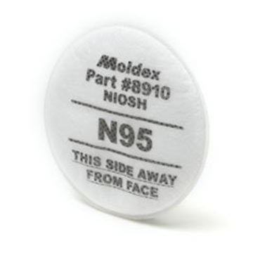 Moldex® Replacement N95 Prefilters (011419)