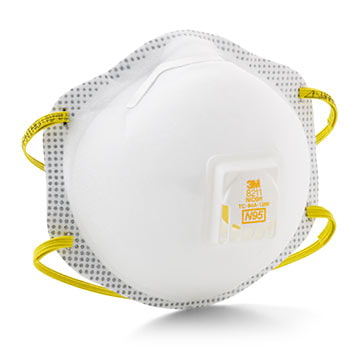 3M™ Disposable N95, Foam Faceseal Particulate Respirator (011424)