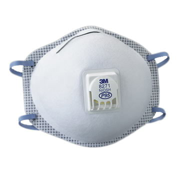 3M™ Disposable P95 Exhalation Valve Particulate Respirator (011426)
