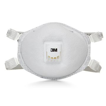 3M™ Disposable N95 Ozone Protection Nuisance Level Organic Vapor Relief Particulate Welding Respirator w/Faceseal (011433)