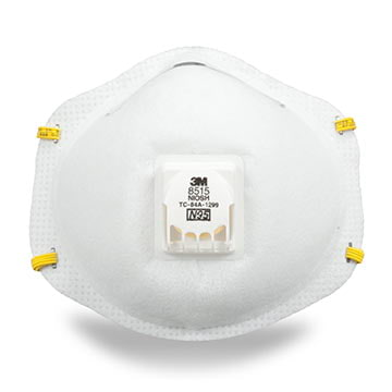 3M™ Disposable N95 Exhalation Valve Particulate Welding Respirator (011436)