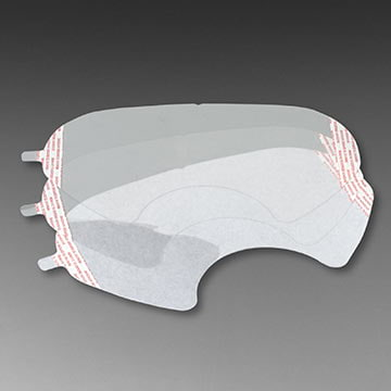 3M™ 6000 Series Faceshield Cover for Full Facepiece Respirators (011462)