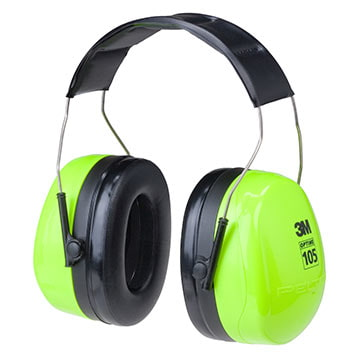 3M™ Peltor™ Optime™ 105 Series Hi-Viz Headband Earmuff (011281)