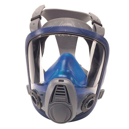MSA® Reusable Twin Port Advantage 3200 Full Facepiece Respirator (011467)