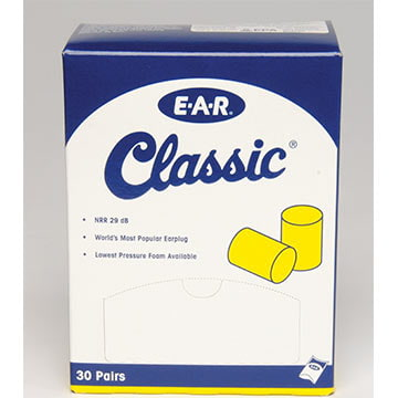 3M™ E-A-R™ Classic™ SuperFit™ Uncorded Pillow Pack Earplugs (011309)