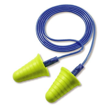 3M™ E-A-R™ Corded Polybag w/Blue Grip Push-Ins™ Earplugs (011318)