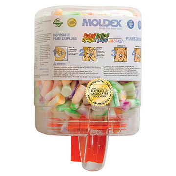 Moldex® Uncorded SparkPlugs® PlugStation® Foam Earplugs (011357)
