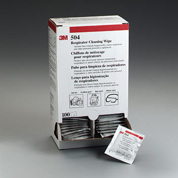 3M™ Respirator Cleaning Wipes (011364)