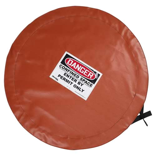 Master Lock® Confined Space Cover - Solid, Lockable (010174)