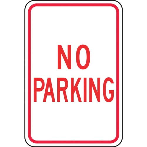 No Parking Sign (011617)