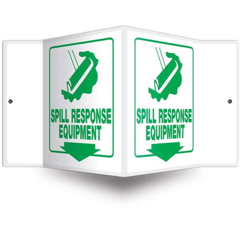 Spill Response Equipment - Projection Sign (010218)