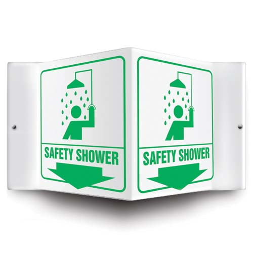 Safety Shower - Projection Sign (010227)