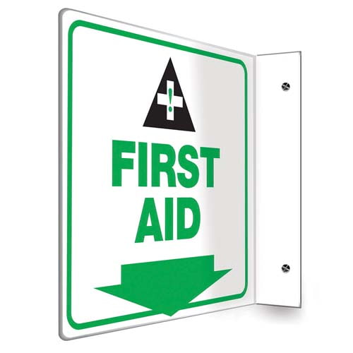 First Aid Sign - Projection (010239)