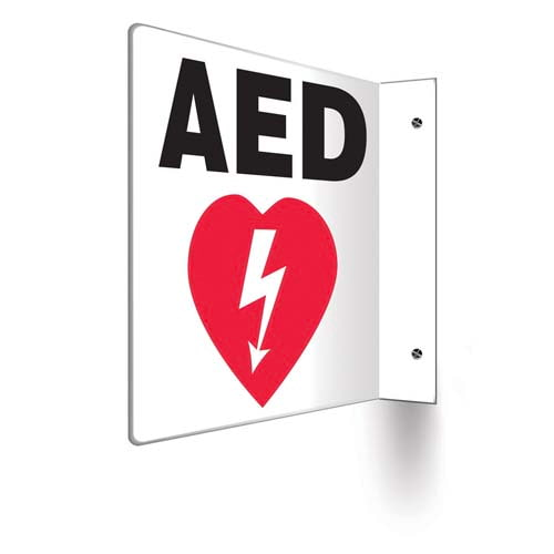 AED - Projection Sign (010240)