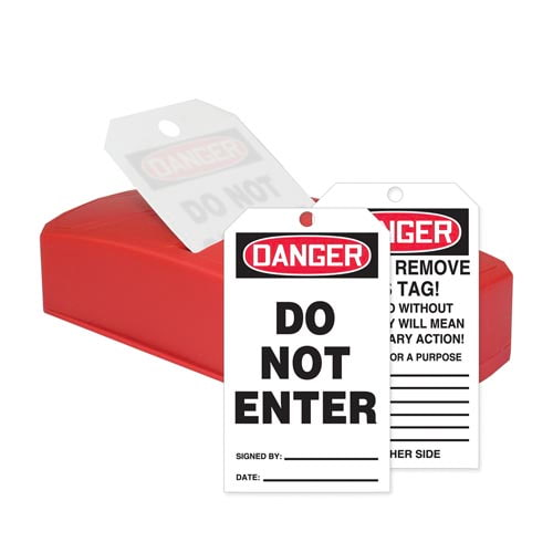 Danger: Do Not Enter - OSHA QuickTags (010308)