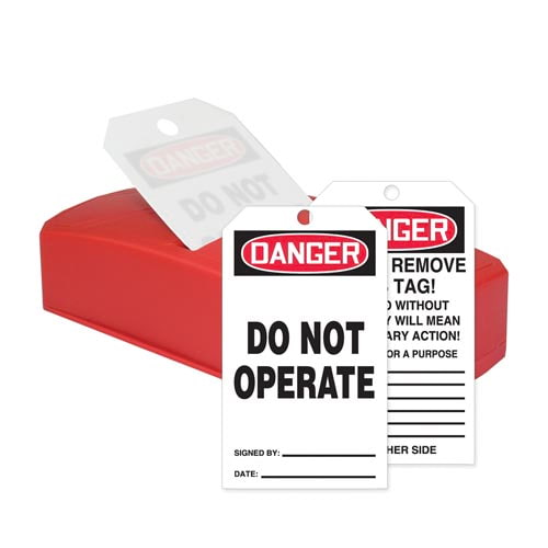 Danger: Do Not Operate - OSHA QuickTags (010309)