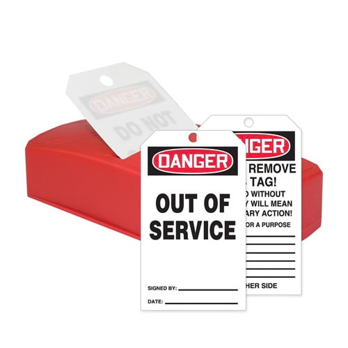 Danger: Out Of Service - OSHA QuickTags (010310)
