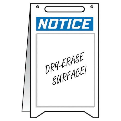 Notice: Blank - OSHA Folding Sign (010311)