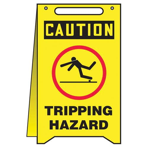 Caution: Tripping Hazard - OSHA Fold-Up (010318)