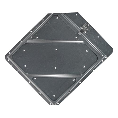 Clipped Corners Placard Holder With Back Plate (01844)