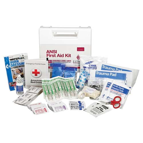 First Aid Kit: 25-Person Class A ANSI Z308.1-2015 (011628)