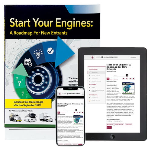 Start Your Engines: A Roadmap for New Entrants Manual + Online Edition (010178)