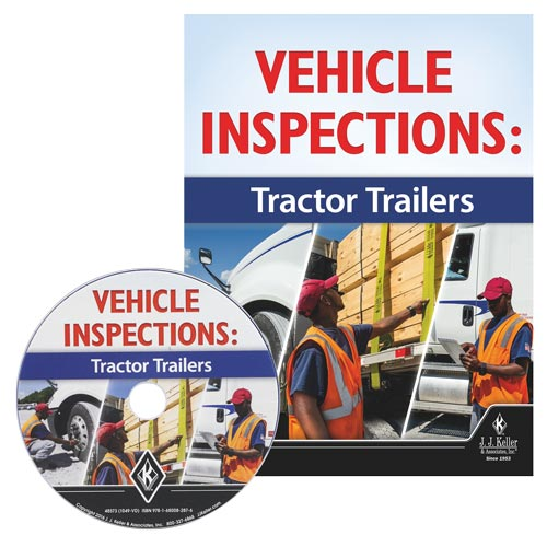 Vehicle Inspections: Tractor Trailers - DVD Training (010552)