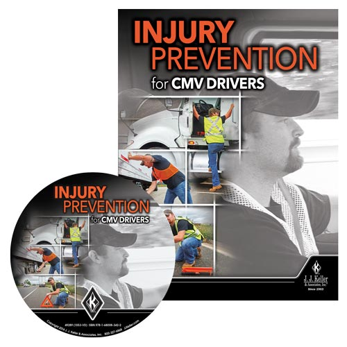 Injury Prevention for CMV Drivers - DVD Training (010564)