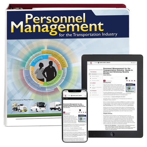 Personnel Management for the Transportation Industry Manual (010684)