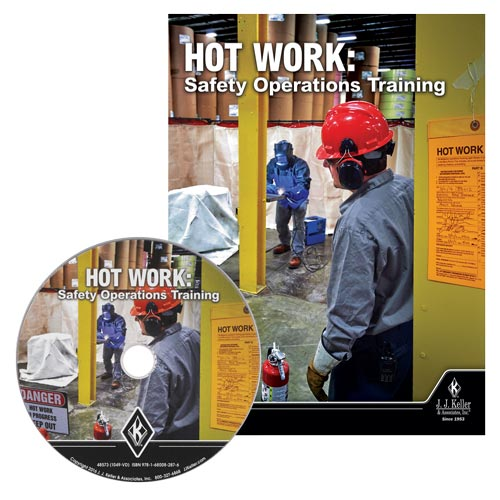 Hot Work: Safety Operations Training - DVD Training (010607)