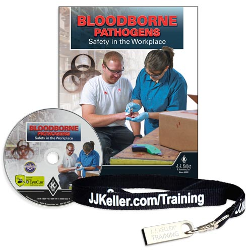 Bloodborne Pathogens: Safety in the Workplace - DVD Training (09232)