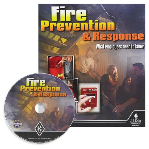 Fire Prevention & Response: What Employees Need to Know - DVD Training (09027)